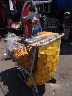 open your own business could not be easier. Fresh orange juice stand:)